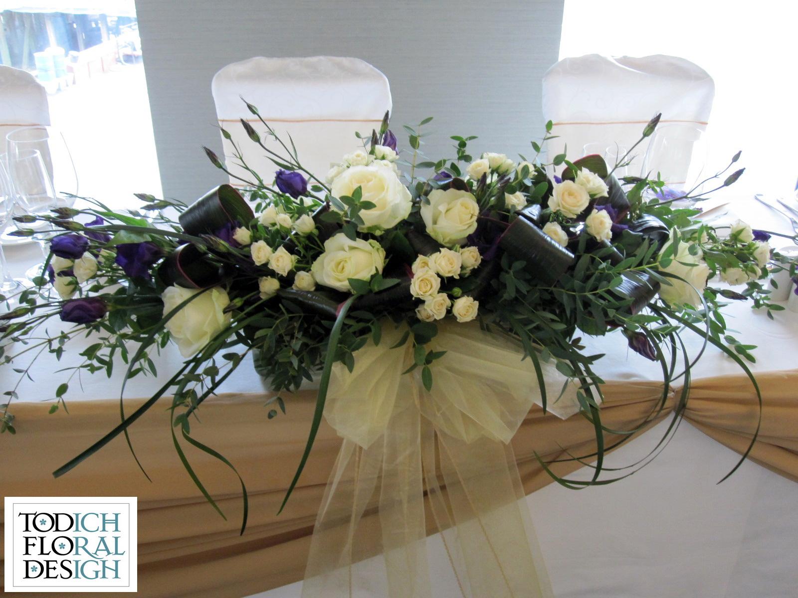 Well-known A Purple & White Summer Wedding - Wedding flowers blog PM42