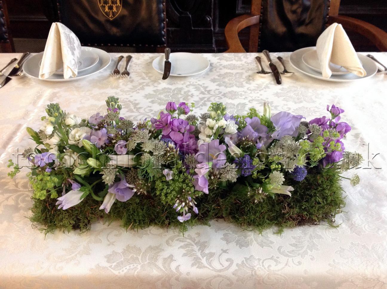 May Wedding - Sweet Pea & Lavender - Wedding flowers blog