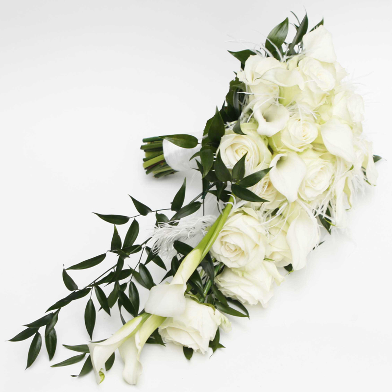 Snow Queen FIN Flower Bouquet Winter Wedding