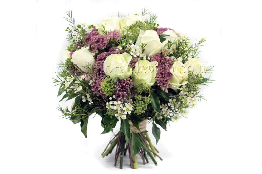Bridal wedding flowers london colors - Flowers good luck bridal bouquet ...
