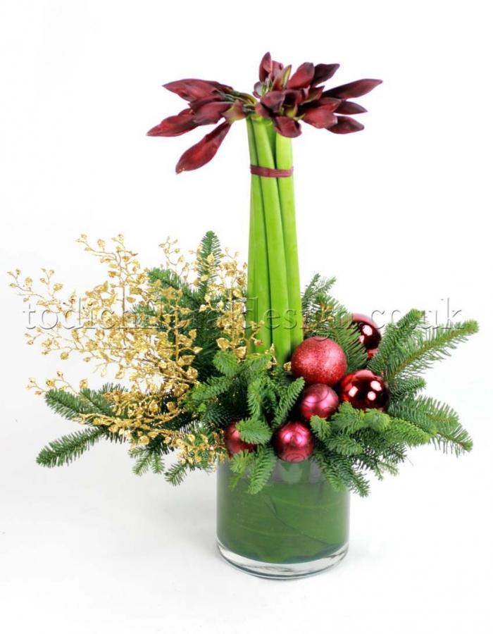 Christmas Flowers London Floral Design Luxury Event