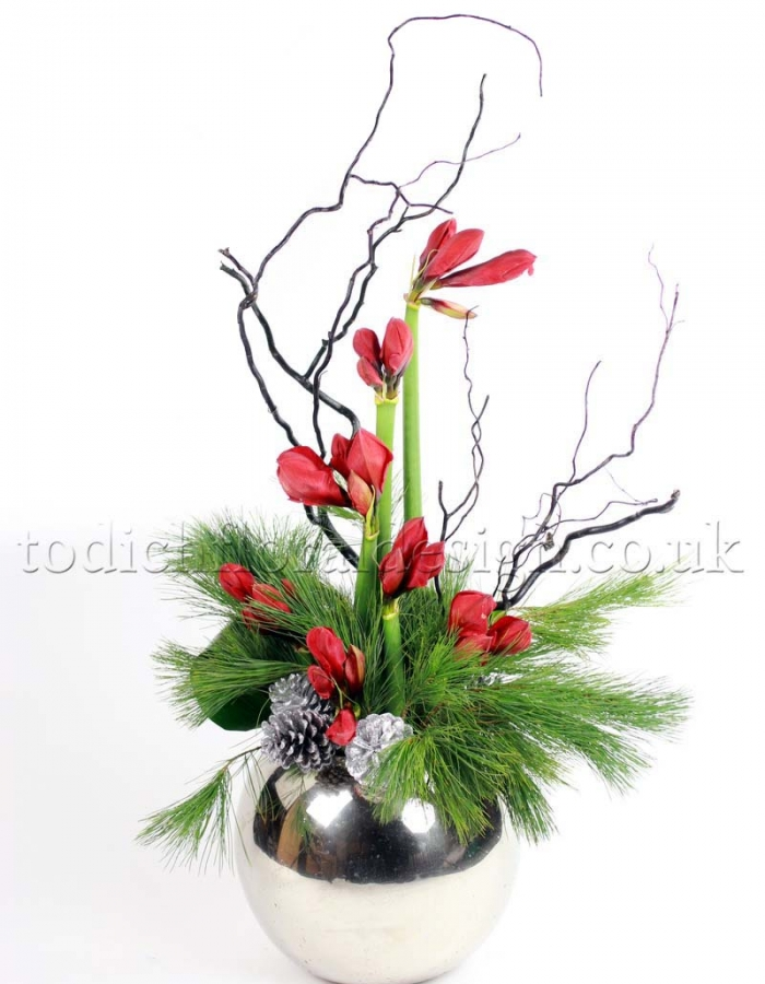 Christmas flowers flowers decoration gallery for California floral and home christmas decorations