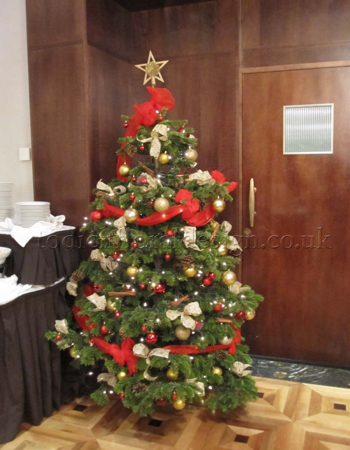Real Christmas Tree Decorating Ideas