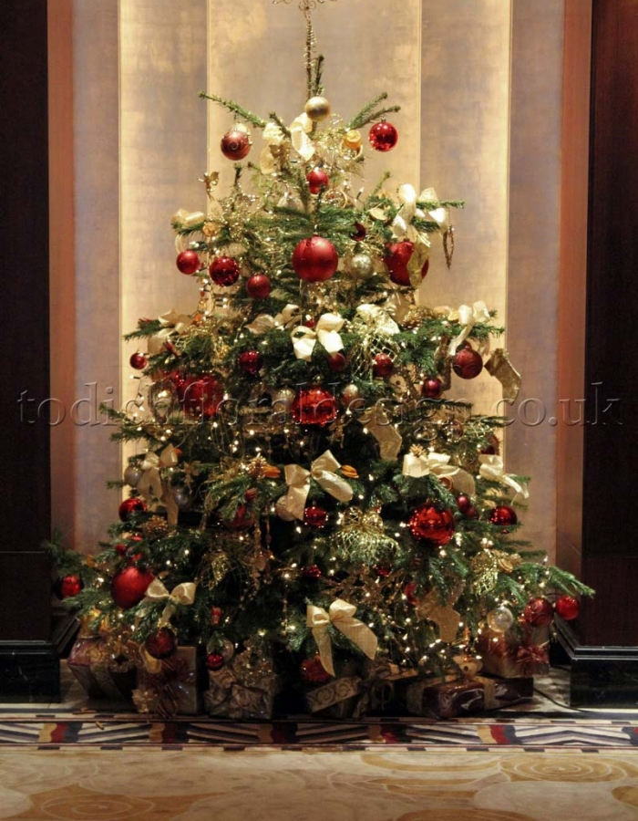 Decorated Christmas Trees London Delivery | Real Christmas Trees