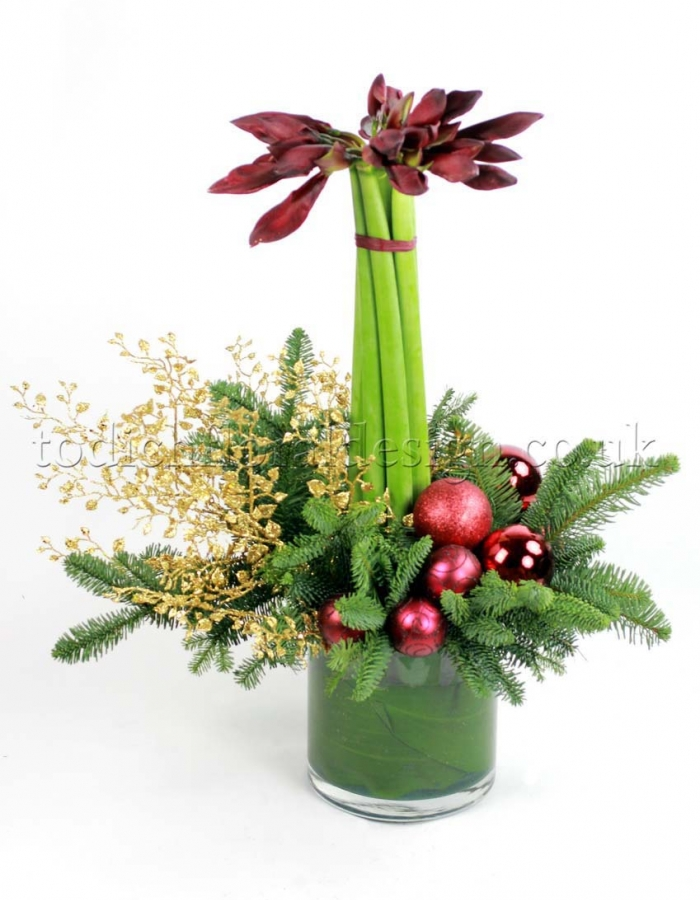 Christmas Table Arrangements Flowers.Christmas Flower Arrangements Floral Arrangements For