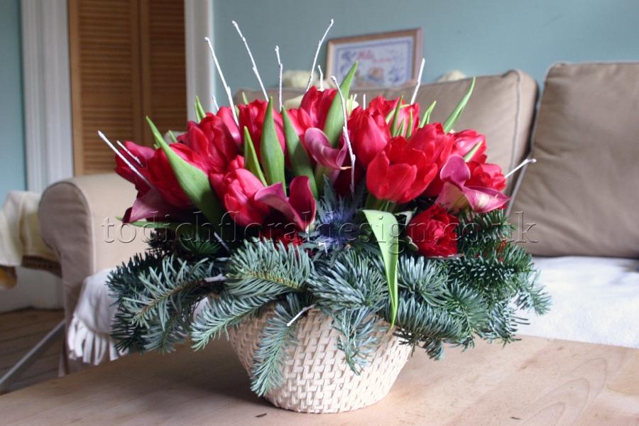 Christmas Flower Arrangements Floral Arrangements For Christmas