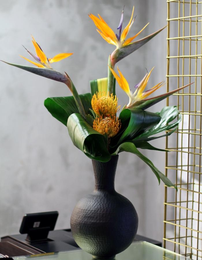 office floral arrangements. 2 Office Floral Arrangements