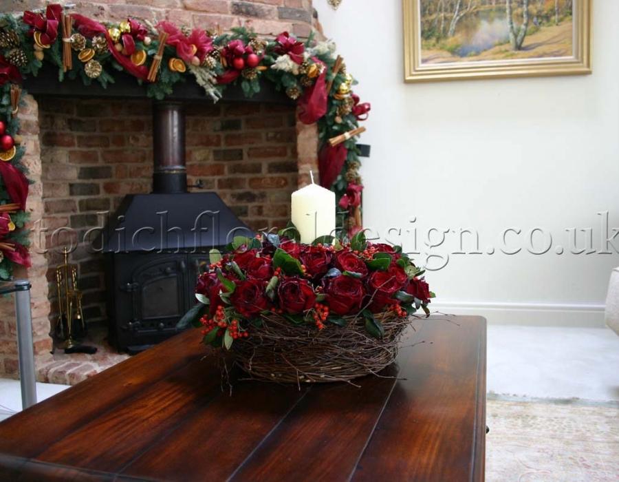 Christmas Garlands Event Flowers By An Award Winning Florist