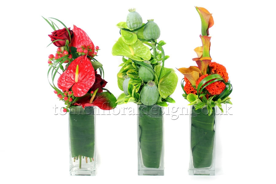 Tall Table Arrangements 34