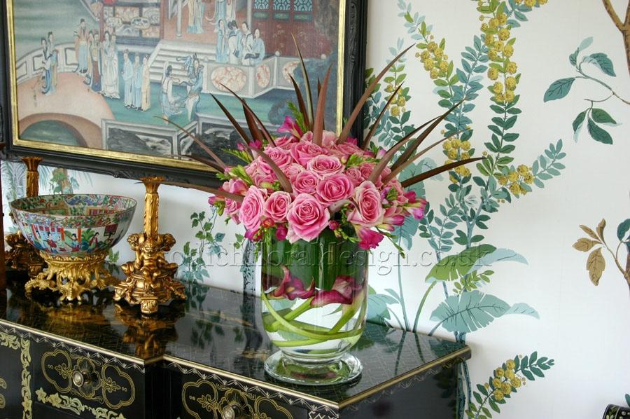 Hotel reception flowers gallery