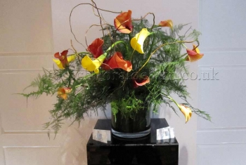 Tall Table Arrangements 73