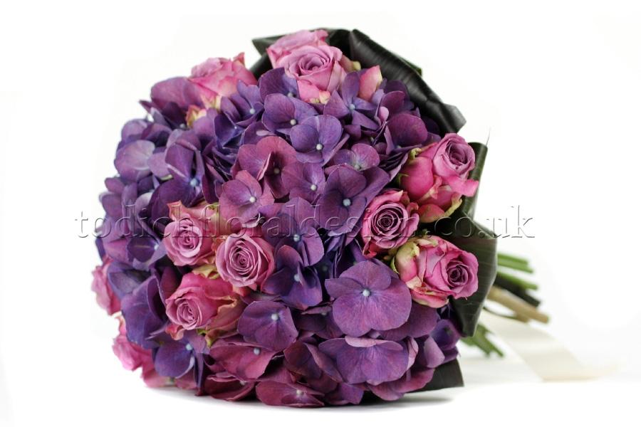 Purple Flowers London | Wedding Florist | Events Florist