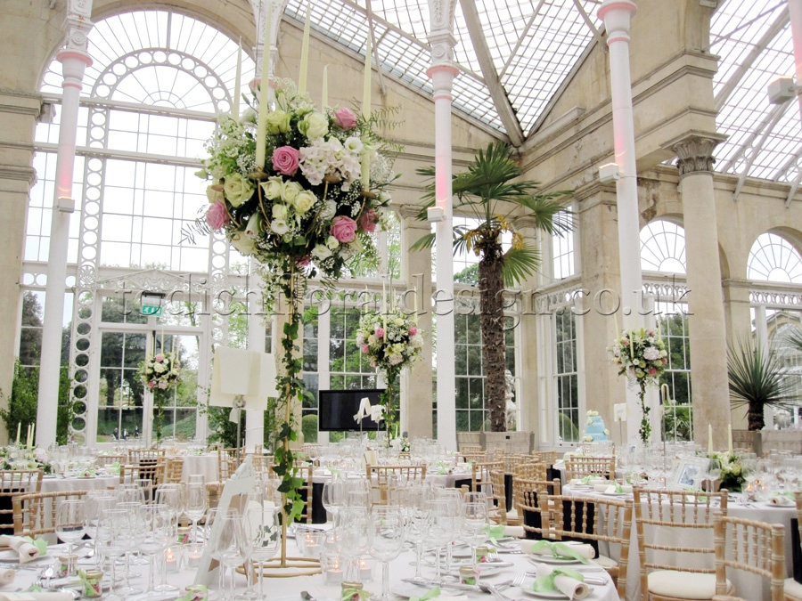 Wedding Reception Flowers London | Decorations and Centrepieces by ...